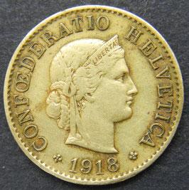 5 Rp. 1918 Schweiz