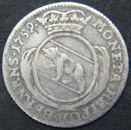 Bern 10 Kreuzer 1759