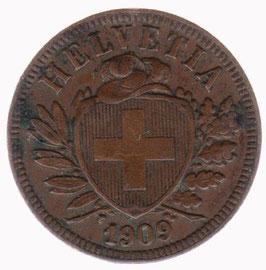 2 Rp. 1909 Schweiz