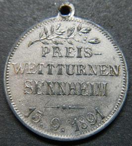 Sennheim Preis Wettturnen 13.09.1891