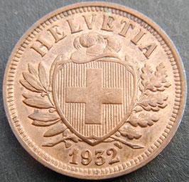2 Rp. 1932 Schweiz