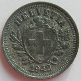 1 Rp. 1942 Schweiz