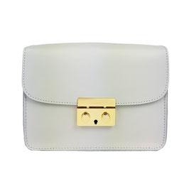 Minimalistische Glattledertasche