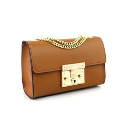 Tasche mit goldener Schließe