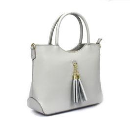 Lederhandtasche mit Tassel