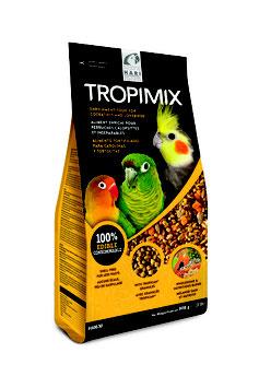TROPIMIX - für Sittiche/Agaporniden, kleine und große Papageien