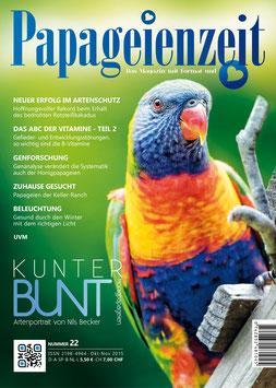 Papageienzeit Ausgabe 22 e-Magazin