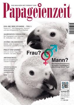 Papageienzeit Ausgabe 25 e-Magazin