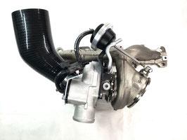 HM410 als Turbolader (mit Krümmer)