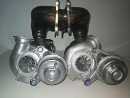 HM600 Turbolader für N54 (Wastegate verbessert)
