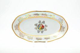 Блюдо овальное МАДОННА ПЕРЛАМУТР Sterne Porcelan 24 см