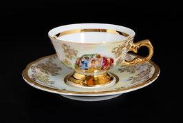 Набор для кофе  МАДОННА Queens Crown на 6 персон 12 предметов