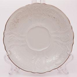 Набор блюдец Bernadotte Платиновый Ободок  15,5 см