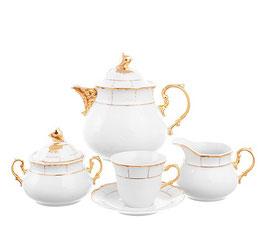 Чайный сервиз МЕНУЭТ Thun на 6 персон 15 предметов