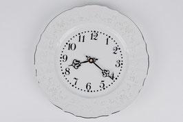 Часы настенные Bernadotte ПЛАТИНОВЫЙ ОБОДОК 27 см