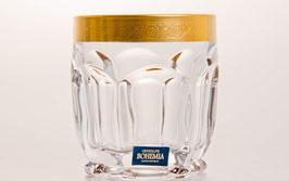 Набор стаканов для виски CАФАРИ Голд Bohemia Crystal  250 мл