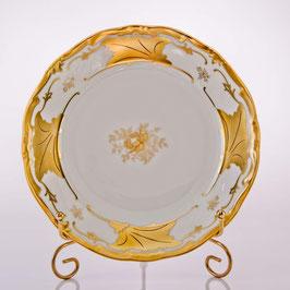 Набор закусочных тарелок Weimar КЛЕНОВЫЙ ЛИСТ БЕЛЫЙ 22 см ( артикул МН 25176 В )