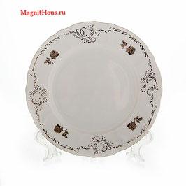 Набор закусочных тарелок Bernadotte ПЛАТИНОВЫЙ ЦВЕТОК 19 см