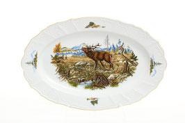 Блюдо овальное ОХОТА Bernadotte 36 см