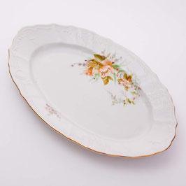 Блюдо овальное ОСЕННИЙ ЛИСТ Bernadotte 34 см