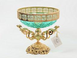 Декоративная ваза для фруктов Rozaperla 27 см