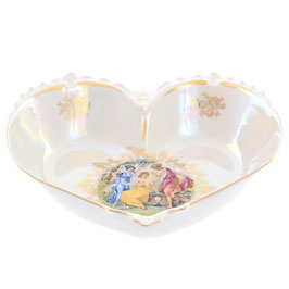 Ваза для конфет сердце  МАДОННА Queens Crown 22 см