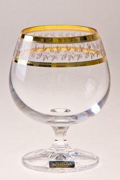 Набор бокалов для бренди  ЛАУРА Bohemia Crystal 250 мл