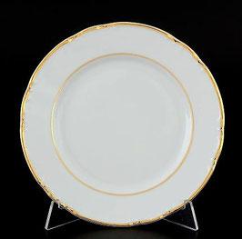 Набор десертных тарелок КОНСТАНЦИЯ ЗОЛОТОЙ ОБОДОК Thun 17 см