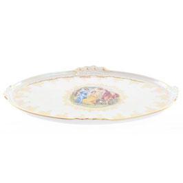 Блюдо овальное  МАДОННА Queens Crown 37 см