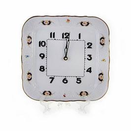 Часы настенные квадратные Bernadotte СИНИЙ ГЛАЗ 26 см