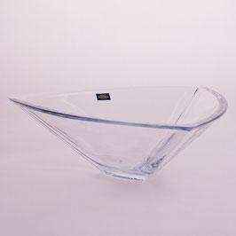 Ваза для фруктов  ТРИАНГЛ Bohemia Crystal  30,5 см