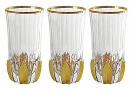 Набор хрустальных стаканов Same АДАЖИО 350 мл