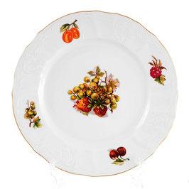 Набор закусочных тарелок Bernadotte ФРУКТЫ 19 см