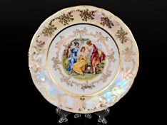 Набор закусочных тарелок  МАДОННА ПЕРЛАМУТР Carlsbad 19 см