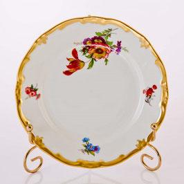 Набор десертных тарелок Weimar МЕЙСЕНСКИЙ БУКЕТ 17 см ( артикул МН 12143 В )