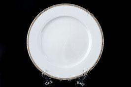 Набор закусочных тарелок Thun ОПАЛ ПЛАТИНОВЫЕ ПЛАСТИНКИ 21 см