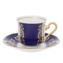 Набор для кофе Epiag ЗОЛОТОЙ КОБАЛЬТ на 6 персон 12 предметов