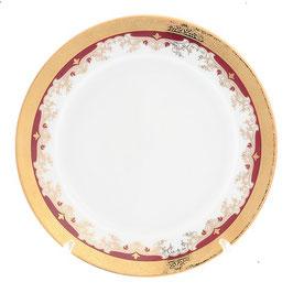 Набор десертных тарелок Thun КРАСНАЯ ЛИЛИЯ 17 см
