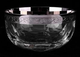 Ваза для конфет  ДЖЕССИ ПЛАТИНОВЫЙ ОБОДОК Kvetna 12 см