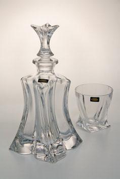 Набор для виски ФЛОРАЛ Bohemia Crystal 7 предметов