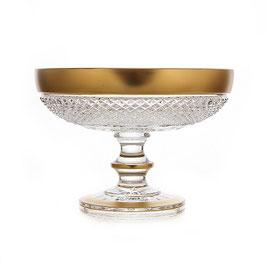Хрустальная ваза для фруктов Glasspo ФЕЛИЦИЯ 20,5 см