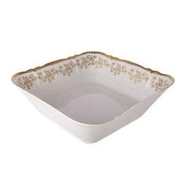 Салатник квадратный МАРИЯ ТЕРЕЗА БЕЛАЯ Bavarian Porcelain 25 см