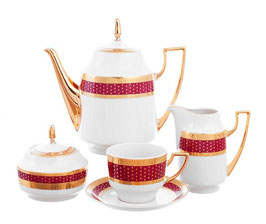 Чайный сервиз МАРИЯ ЛУИЗА БОРДО THUN на 6 персон 15 предметов