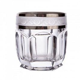 Набор стаканов для виски САФАРИ ПЛАТИНА Bohemia Crystal 250 мл
