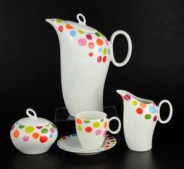 Кофейный сервиз мокко THUN FUTURE ФЕЛЛИНИ на 6 персон 15 предметов