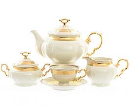 Чайный сервиз Thun МАРИЯ ЛУИЗА ИВОРИ на 6 персон 15 предметов