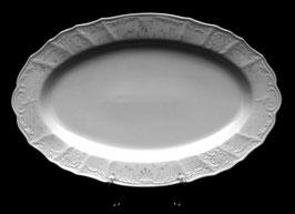 Блюдо овальное Bernadotte Платиновый Ободок 36 см