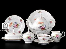Чайный сервиз ПОЛЕВОЙ ЦВЕТОК Bernadotte на 12 персон 43 предмета