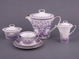 Немецкий чайный сервиз Rosenthal ГРАНД на 6 персон 21 предмет ( артикул МН 32661 В )