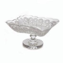 Хрустальная ваза для фруктов Glasspo 25,5 см